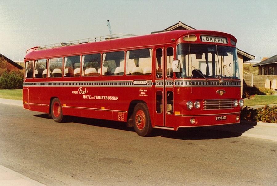 Knud Bæks Rute- og Turistbusser BY98802