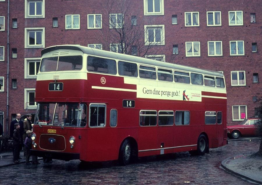 KS AS93209 (demovogn) på Jydeholmen i Vanløse den 22. april 1970