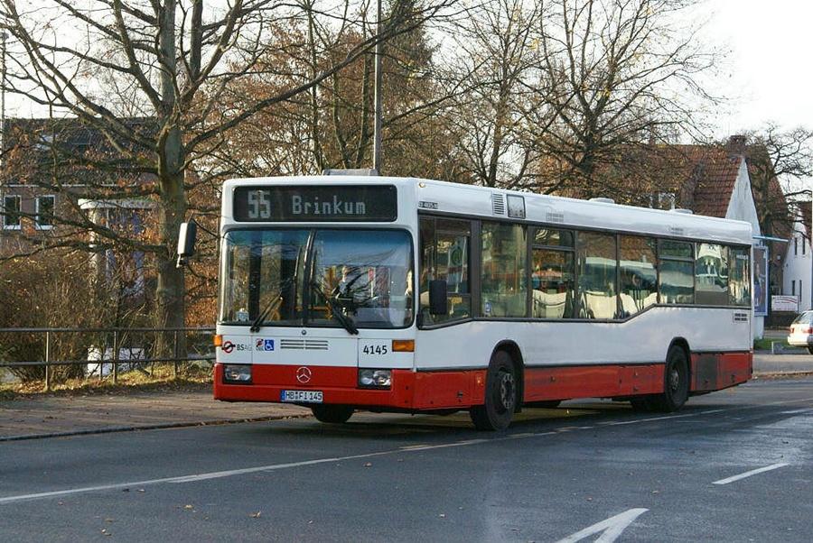 BSAG 4145/HB-FI145 ved Roland Center i Bremen i Tyskland den 24. november 2007