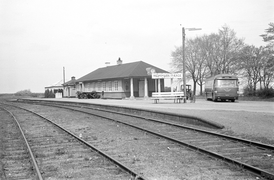 DSB 714/NL79010 i Mommark den 21. maj 1962