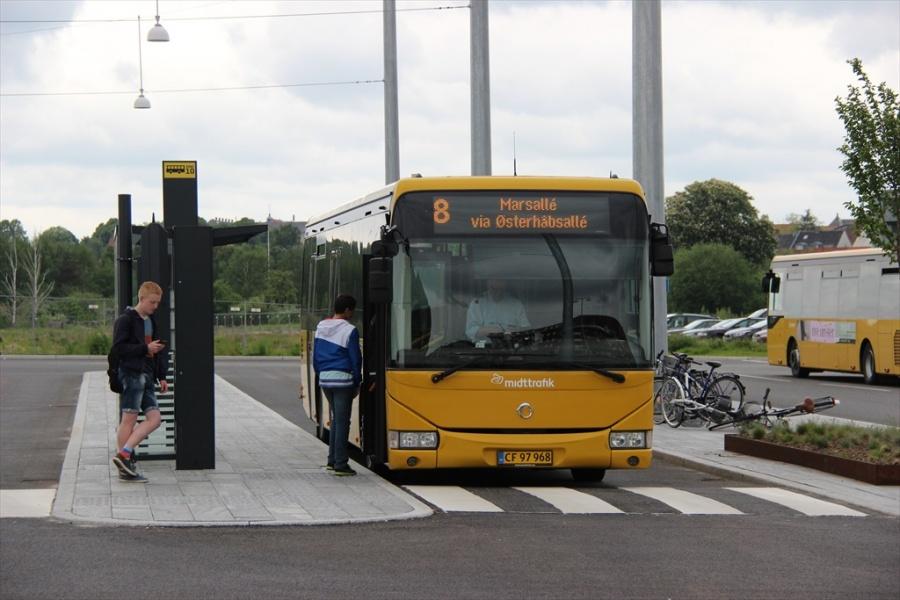 Arriva 3080/CF97968 på Horsens Trafikterminal den 29. maj 2013