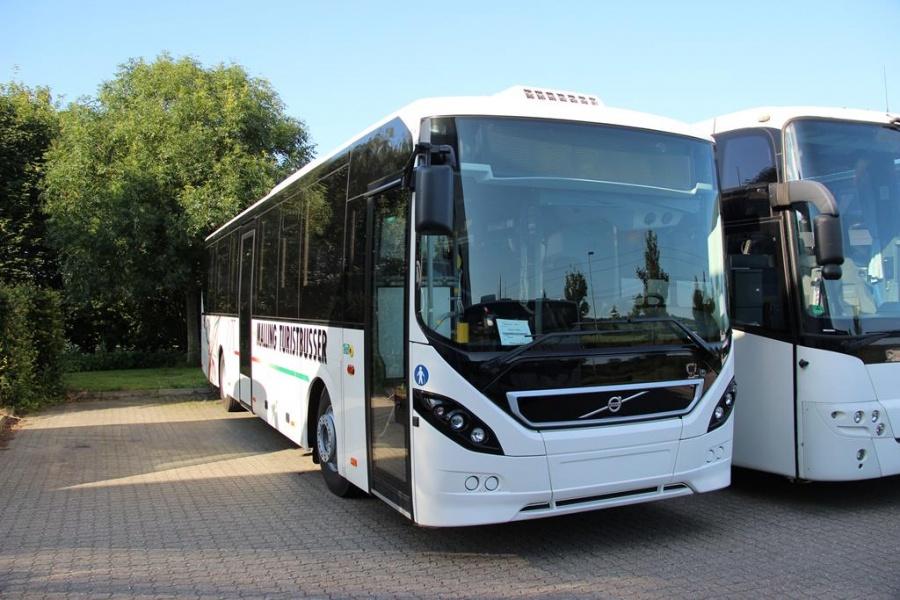 Malling Turistbusser 58 ved Bus Center Vest i Kolding den 6. juli 2013