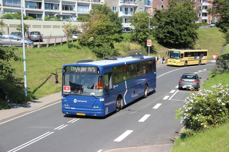 Bent Thykjær 166/PX90879 på Hulvejen i Esbjerg den 6. juli 2013