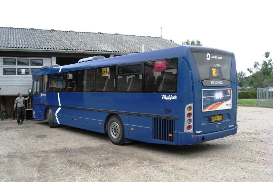 Bent Thykjær 232/UT95367 i garagen i Jels den 4. juli 2013