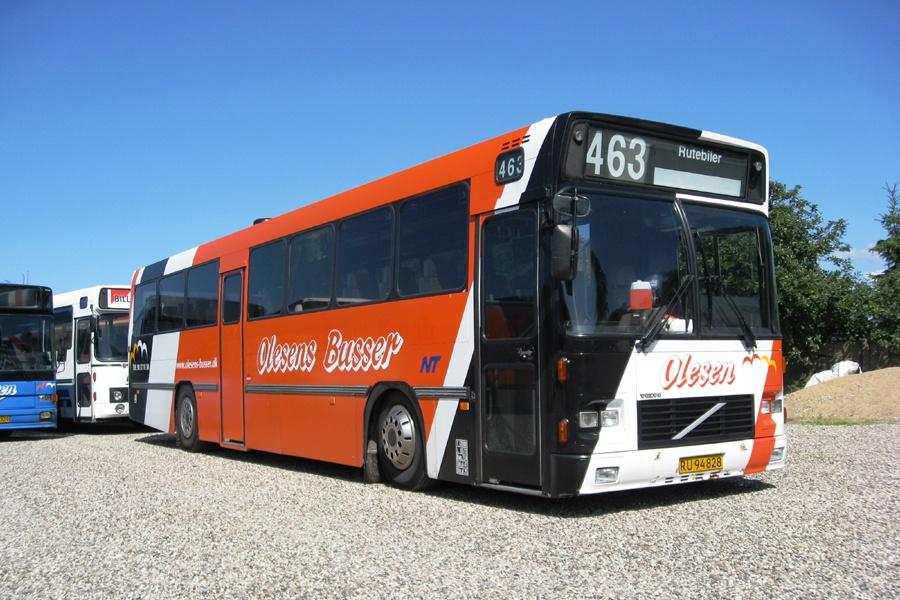 Olesens Busser 59/RU94828 i Støvring den 11. juli 2013