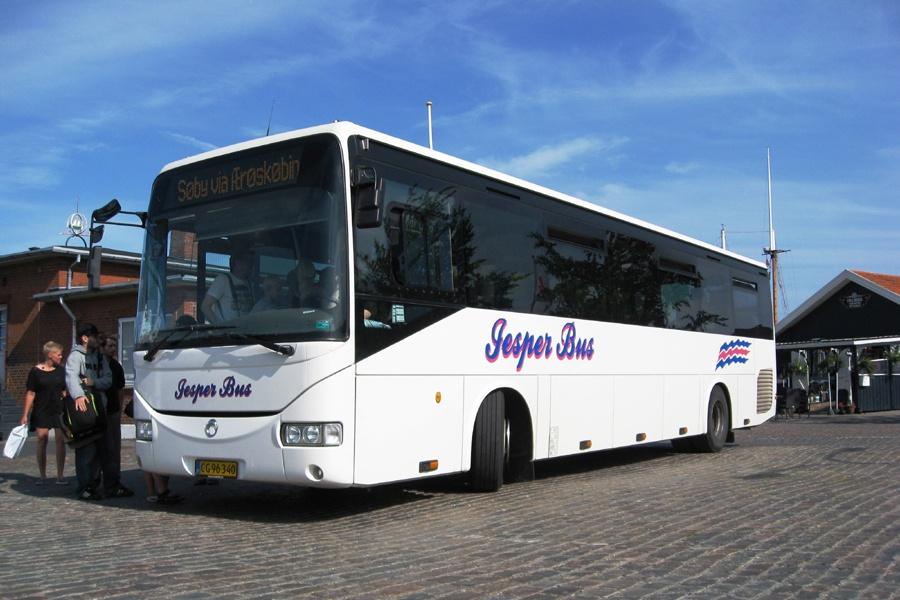 Jesper Bus 10/CG96340 i Marstal den 17. juli 2013