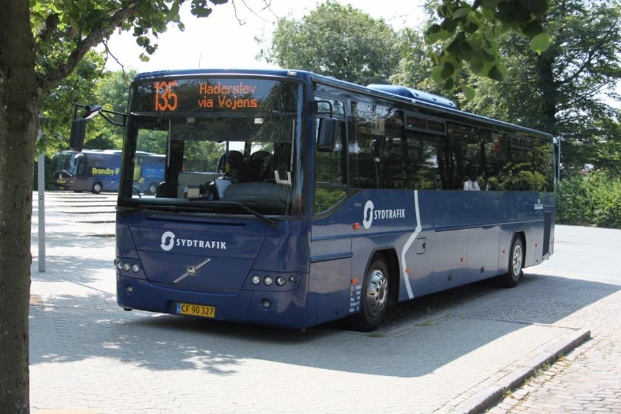 Rutebilselskabet Haderslev CF90327 på Ribe rtb. den 12. juli 2013