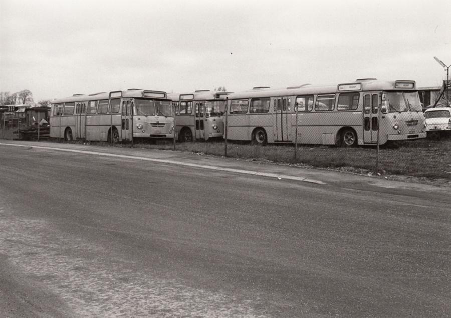 NESA 53, 55 og 57 i Ølsemagle Strand i 1974