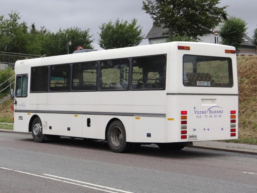Ex. Vores Busser 15 på Omfartsvejen i Christiansfeld den 3. september 2013