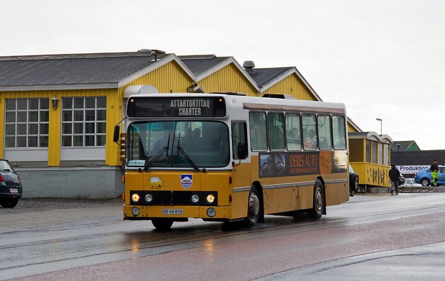 Nuup Bussii 03/GR68836 i Nuuk i Grønland den 10. september 2013