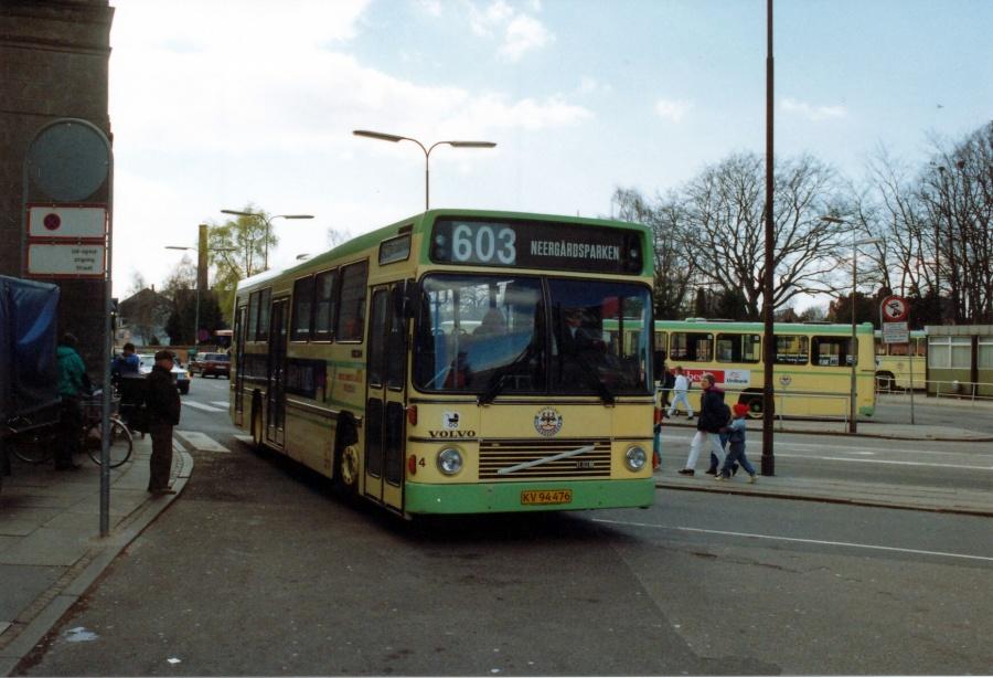 Roskilde Omnibusselskab 4/KV94476 ved Roskilde Station