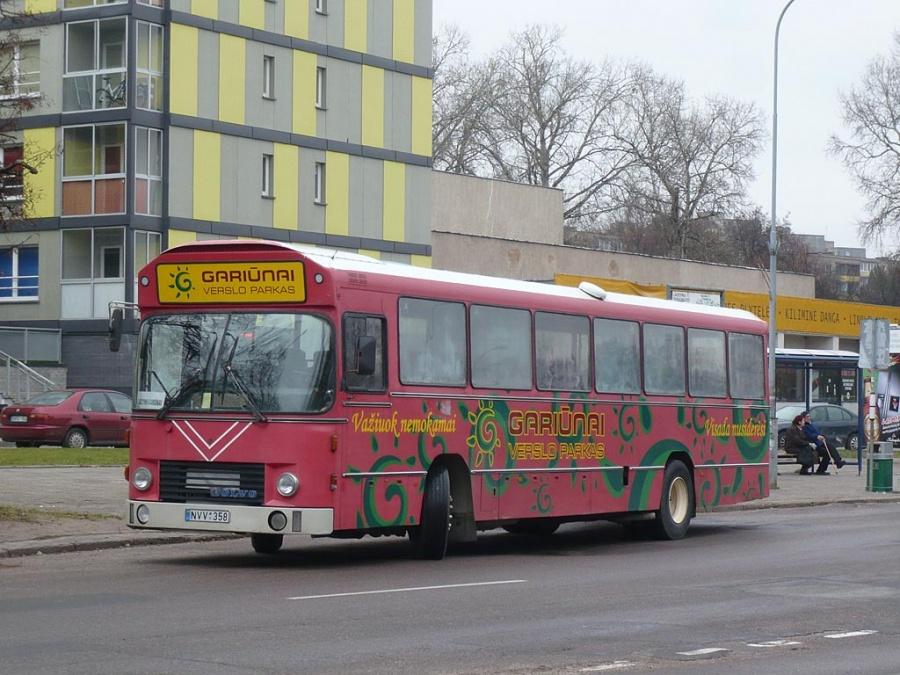 Posukis NVV358 i Vilnius, Litauen den 31. oktober 2009