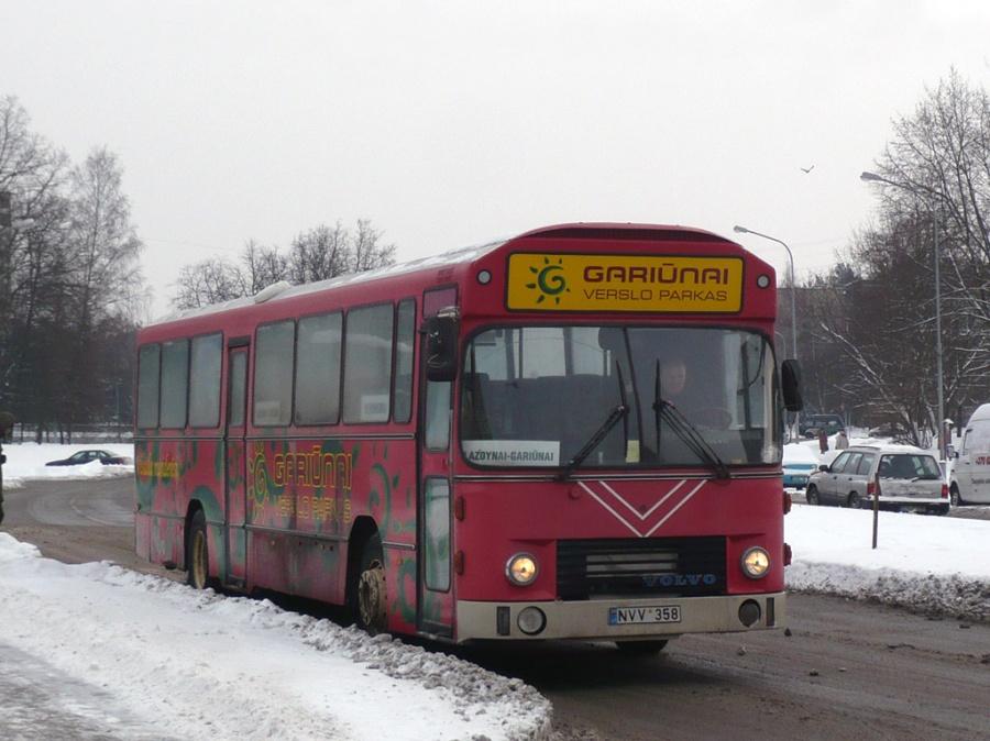 Posukis NVV358 i Vilnius, Litauen den 30. januar 2010