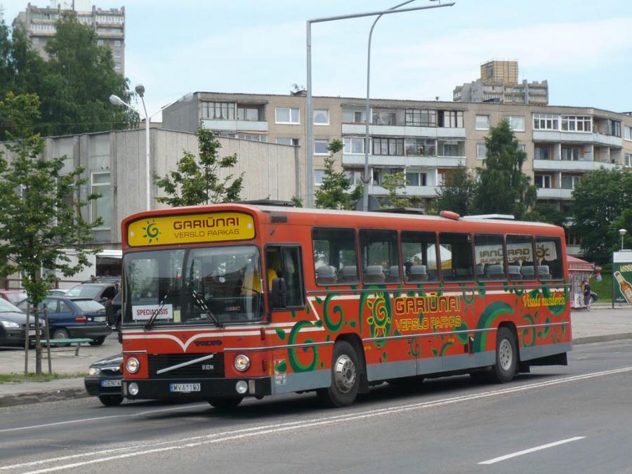 Posukis MVA183 i Vilnius, Litauen den 1. juli 2009