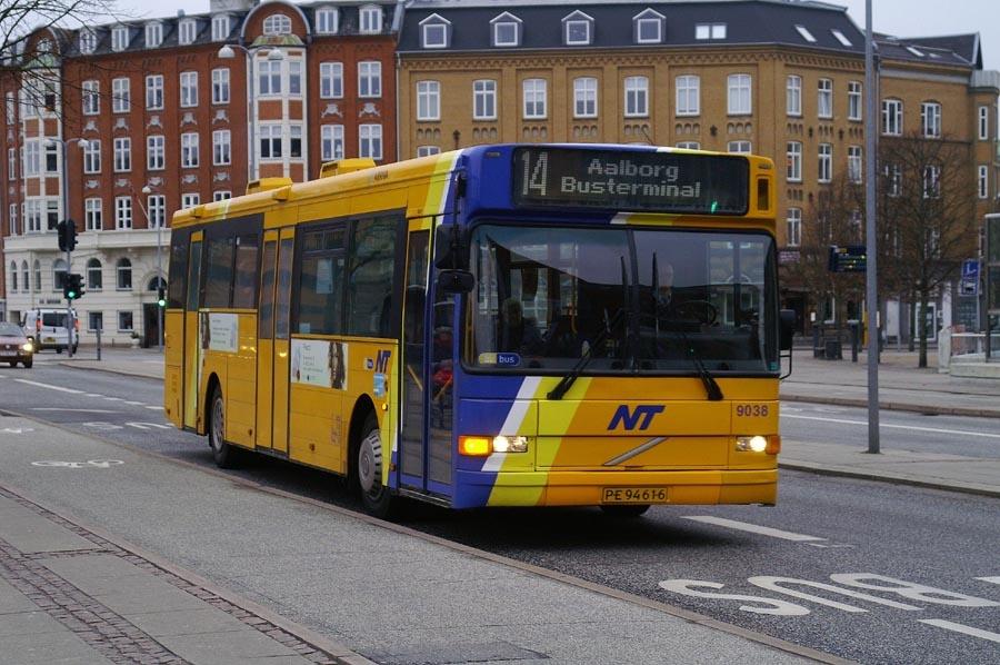 Arriva 9038/PE94616 i Aalborg den 12. marts 2009