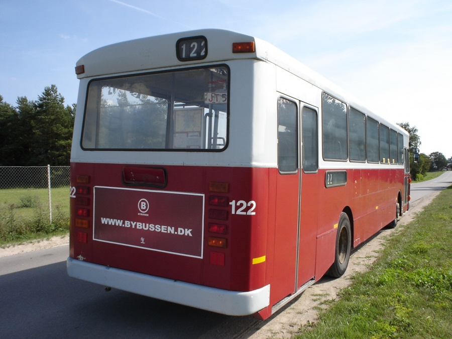 Ex. Odense Bybusser 122 på Darupvej ved Roskilde den 30. juli 2006