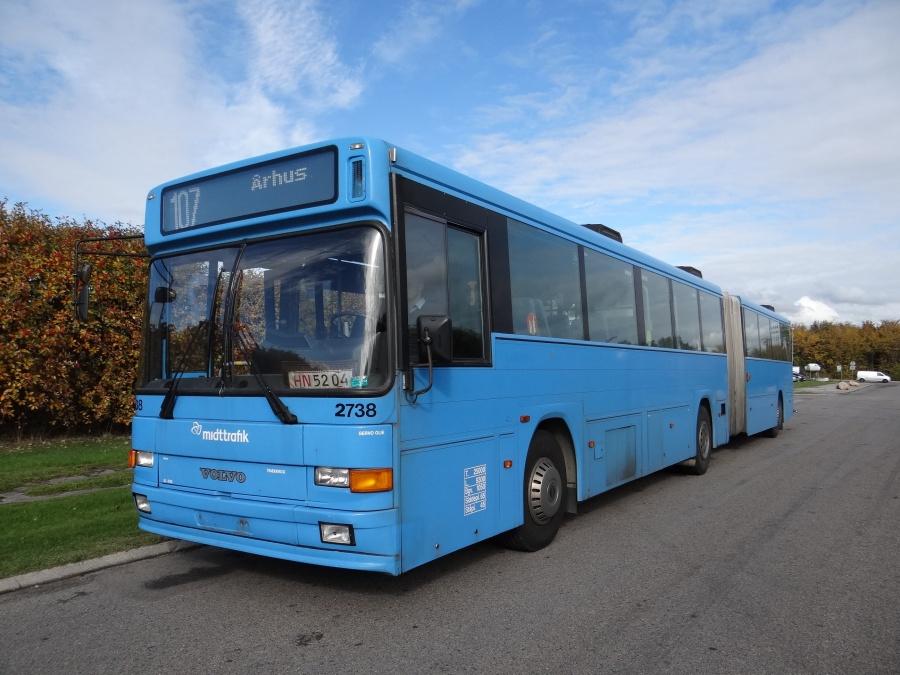 Ex. Arriva 2738 på Agenavej i Greve den 10. oktober 2013