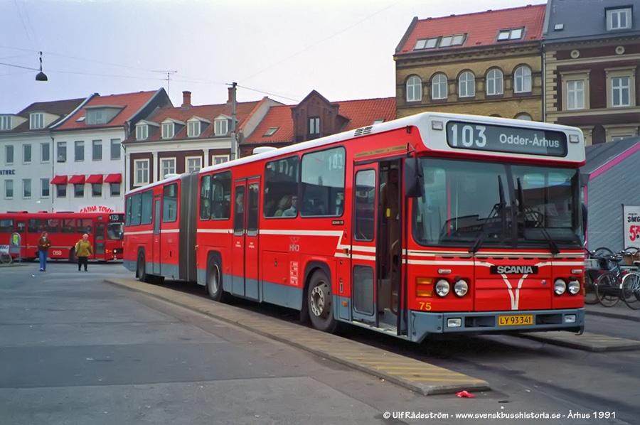 HHJ 75/LY93341 på Århus rtb. i 1991