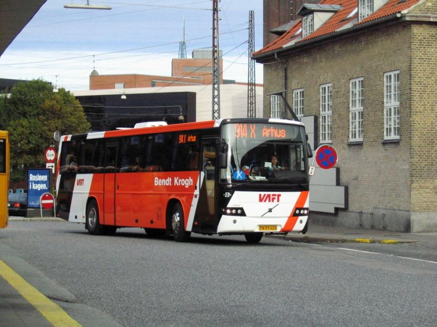 Bendt Krogh TN93426 på Århus Rutebilstation den 30. september 2005