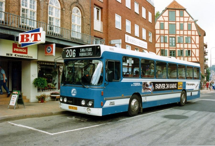 Svendborg By- og Nærtrafik 19/KR95720 i Svendborg