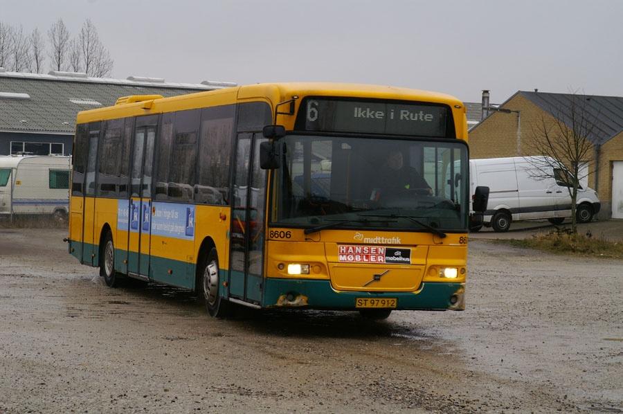 Arriva 8606/ST97912 i Randers den 7. marts 2009