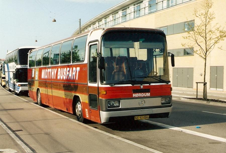 Midtthy Busfart NX92096 på Ingerslevsgade i København