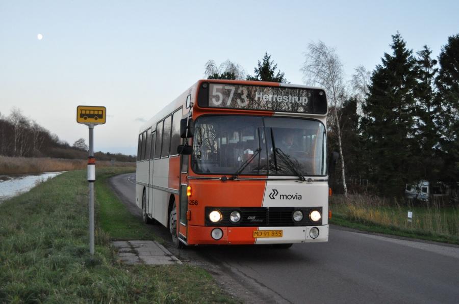 Ditobus 4258/MC92751 i Grevninge den 13. november 2013