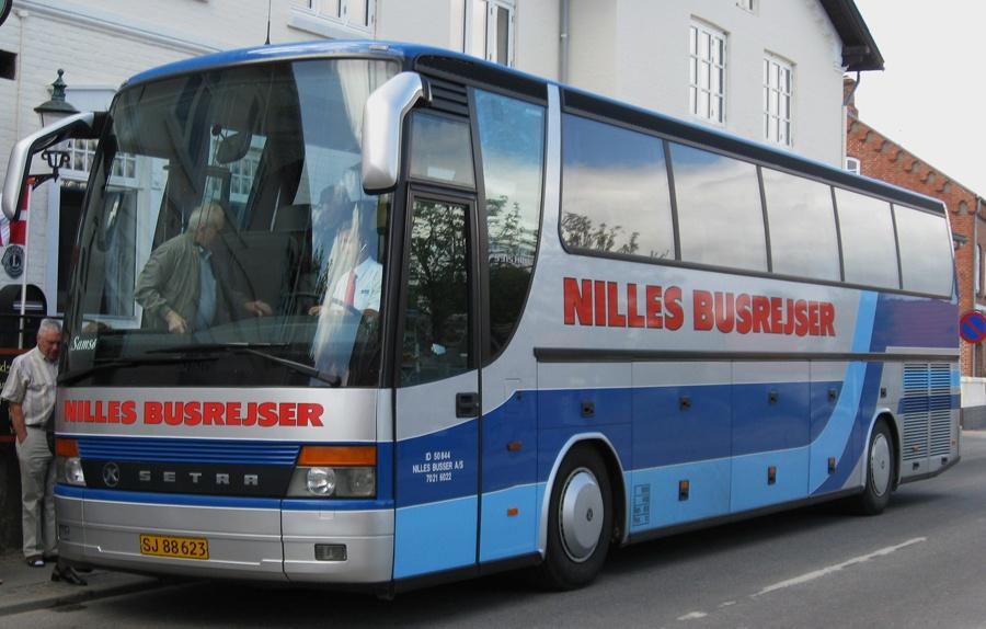 Nilles Busrejser 6/SJ88623 på Samsø den 11. juni 2008