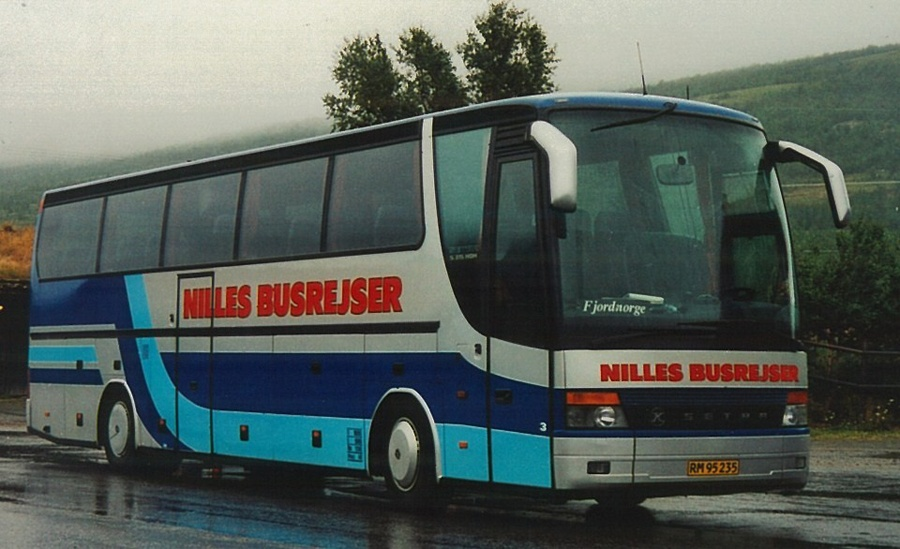 Nilles Busrejser 3/RM95235 i Dovrefjell i Norge i august 2006