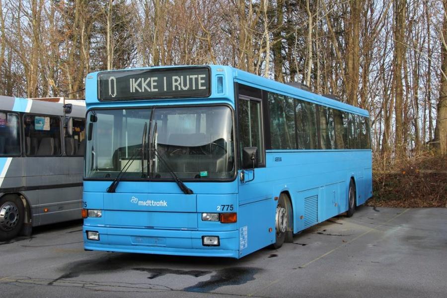 Arriva 2775 hensat i Haderslev den 2. december 2013