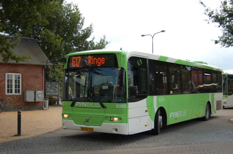 Tide Bus 8065/UB95794 ved Ringe Station den 28. august 2013