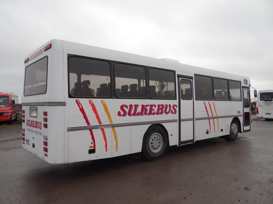 Ex. Silkebus 4 ved Vejstruprød Busimport den 19. december 2013