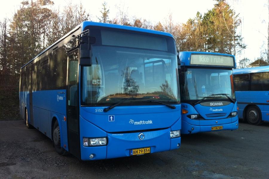 Arriva 3153/AH79854 i Rostved den 28. november 2013