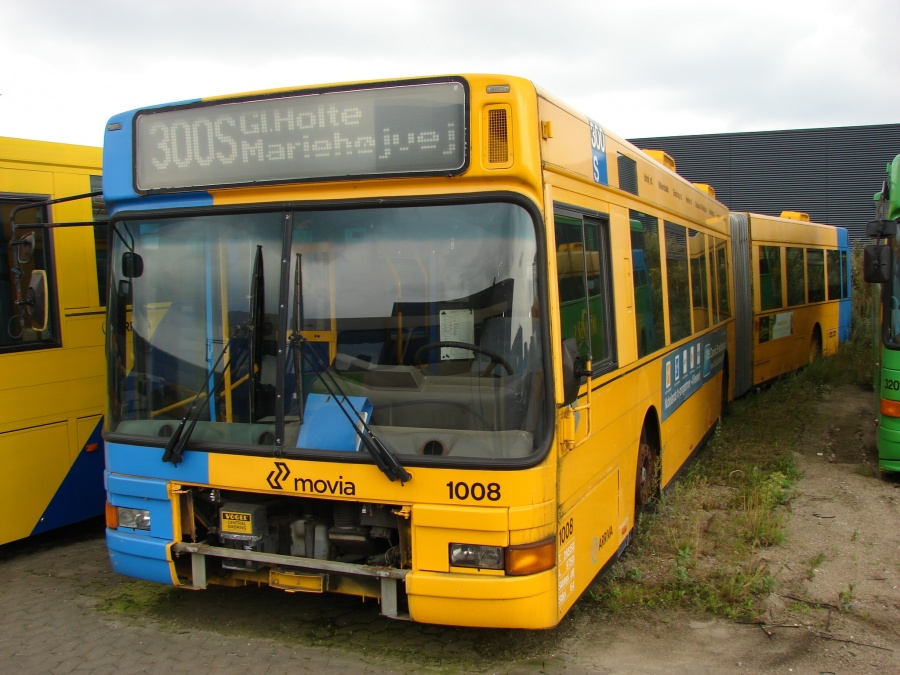 Arriva 1008 i Hedensted den 10. august 2009