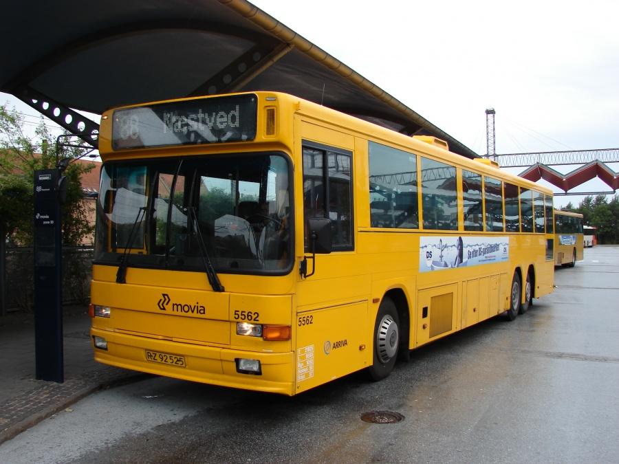 Arriva 5562/RZ92525 ved Slagelse Station den 17. august 2009