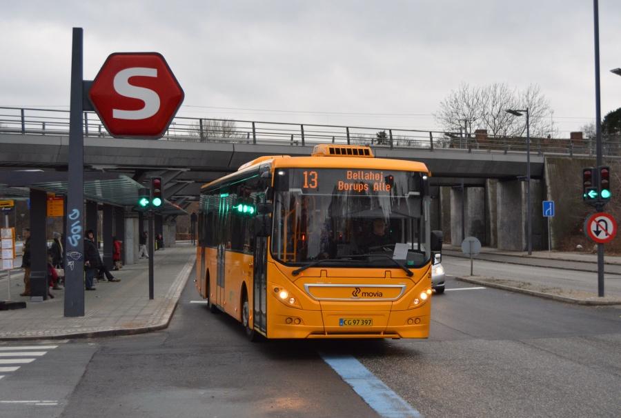 City-Trafik 2620/CG97397 ved Flintholm Station i København den 7. januar 2014
