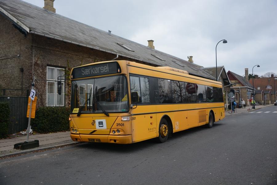 Keolis 2501/SH91448 ved Gentofte st. den 15. november 2014