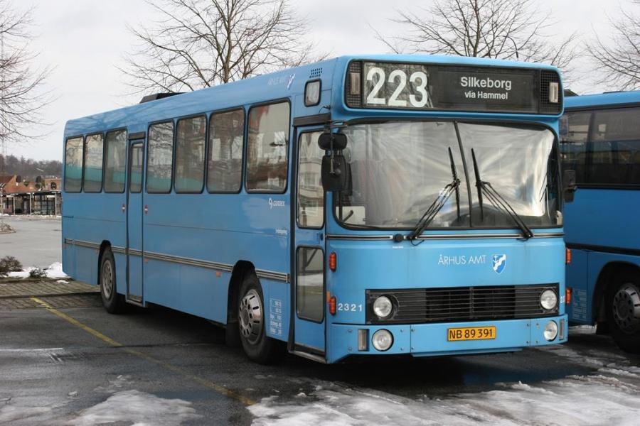 Connex 2321/NB89391 i Silkeborg den 20. februar 2005