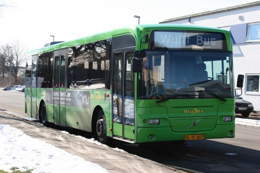 Wulff Bus 1035/SL91807 i Horsens den 7. marts 2005