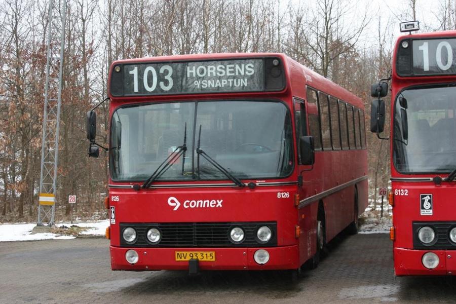 Connex 8126/NV93315 i Horsens den 13. marts 2005