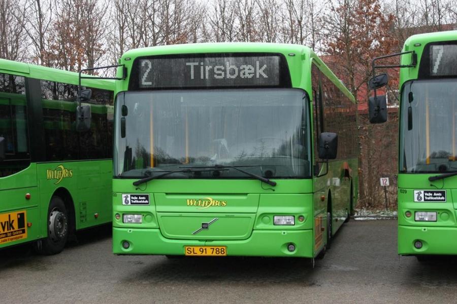Wulff Bus 1030/SL91788 i Horsens den 13. marts 2005