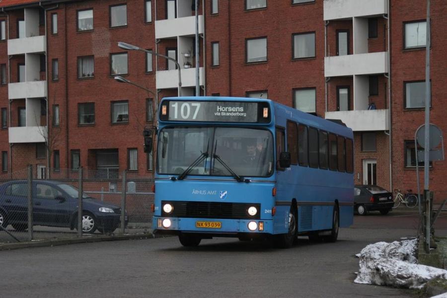 Connex 2411/NX93039 i Horsens den 13. marts 2005