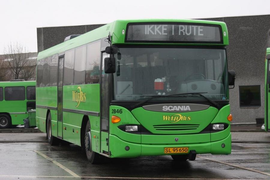 Wulff Bus 2846/SL95650 i garagen i Vejle den 15. marts 2005
