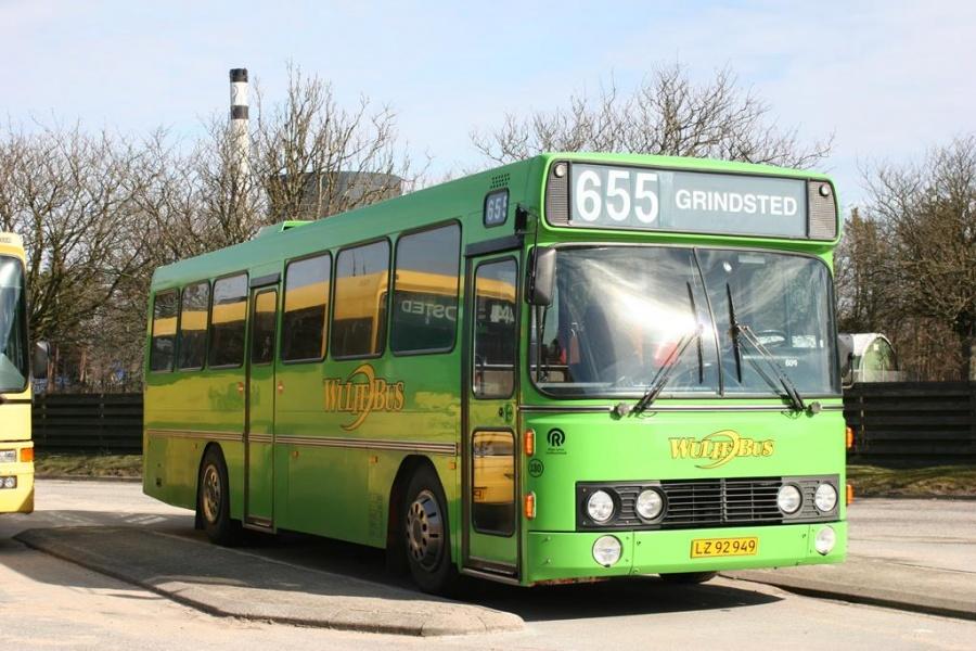 Wulff Bus 130/LZ92949 i Grindsted den 20. marts 2005