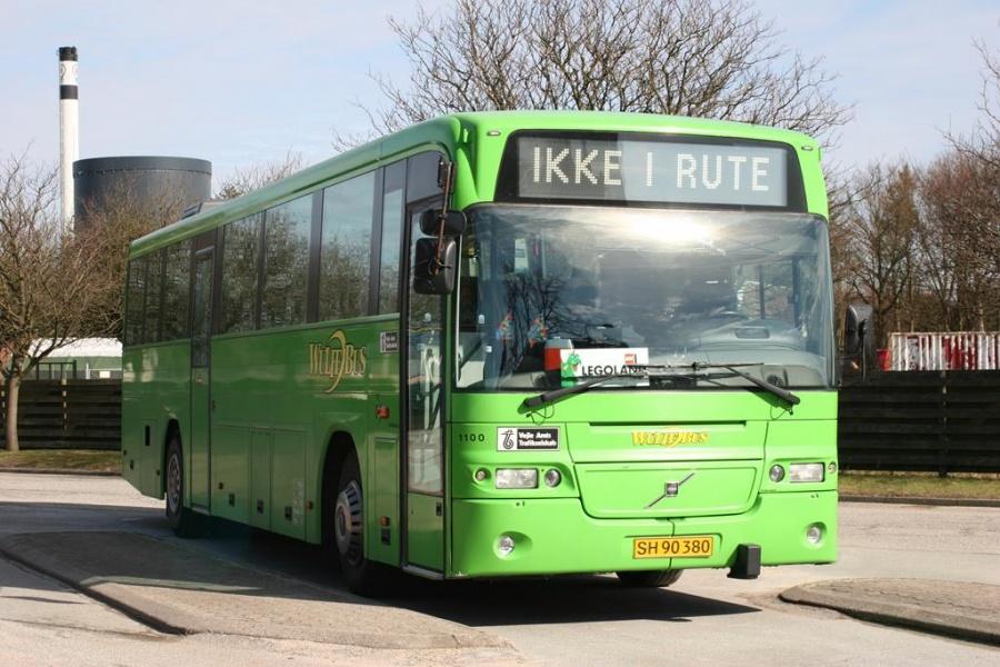 Wulff Bus 1100/SH90380 i Grindsted den 20. marts 2005