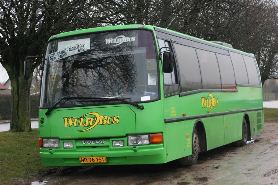 Wulff Bus 3170/NR96151 i Grindsted den 26. marts 2005