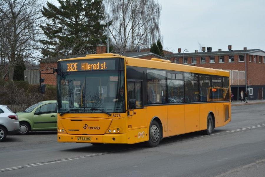 De Hvide Busser 8776/UT88407 ved Rungsted Kyst Station den 5. marts 2014