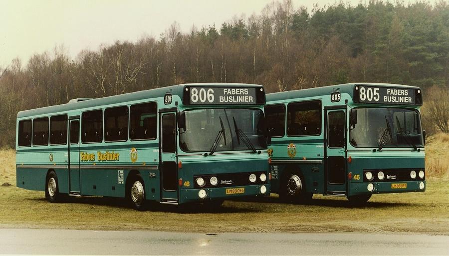 Fabers Buslinier 46/LM88056 og 45/LM88055