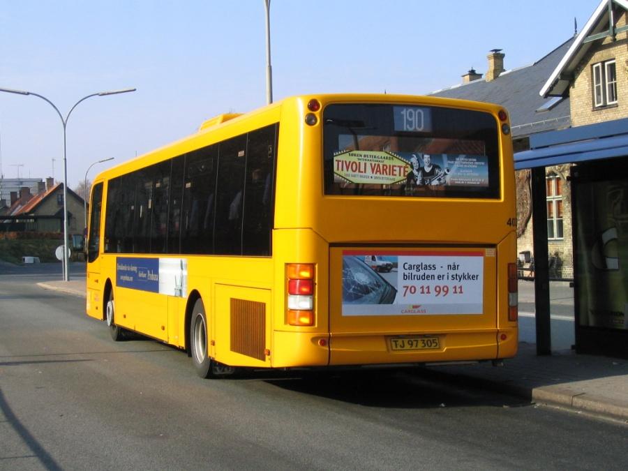De Blaa Omnibusser 4025/TJ97305 ved Holte Station den 3. maj 2006