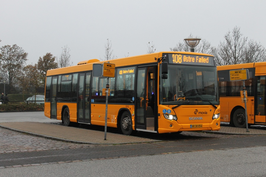 Arriva 1210/AR30054 ved Ringsted st. den 16. november 2014